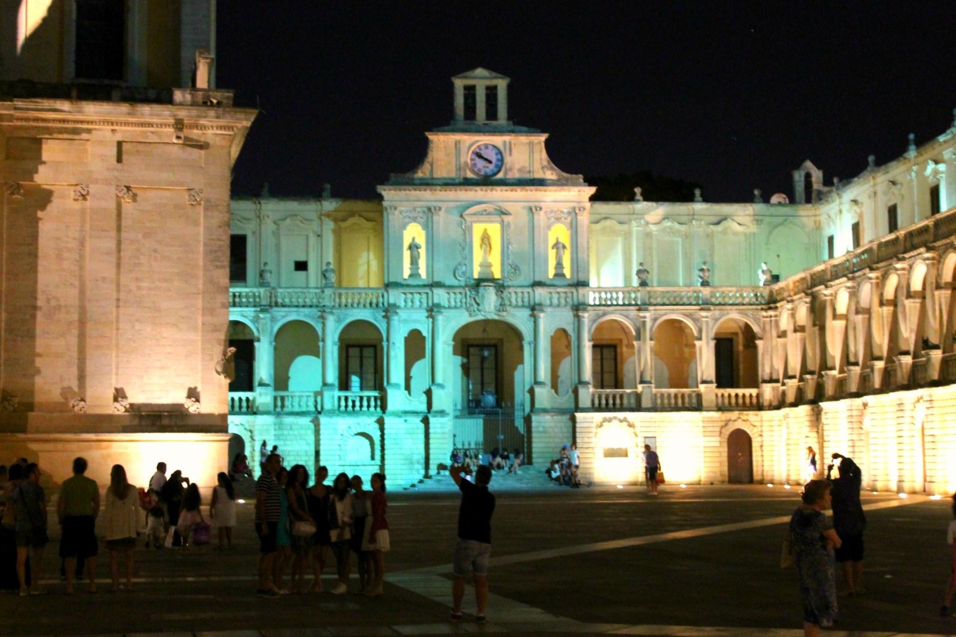 Piazza Del Duomo Lecce
