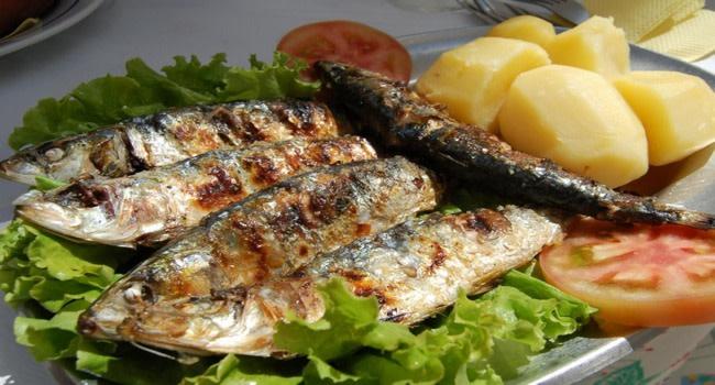 sardinas asadas de portugal