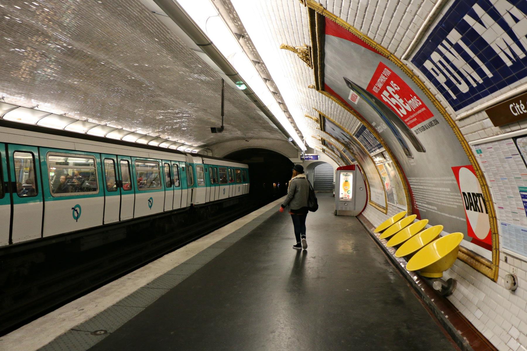 metro, Parigi