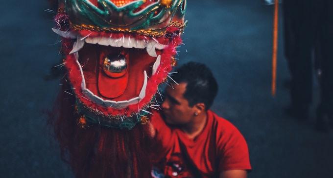 capodanno cinese drago