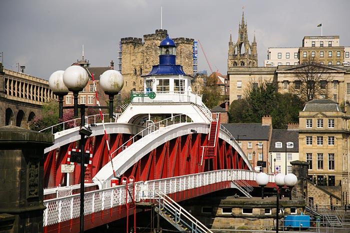 Swing Bridge. Image courtesy of NewcastleGateshead Initiaive
