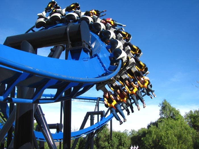 parque de atracciones six flags great adventure en nueva jersey estados unidos