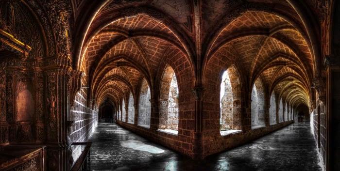 interior del monasterio de piedra zaragoza