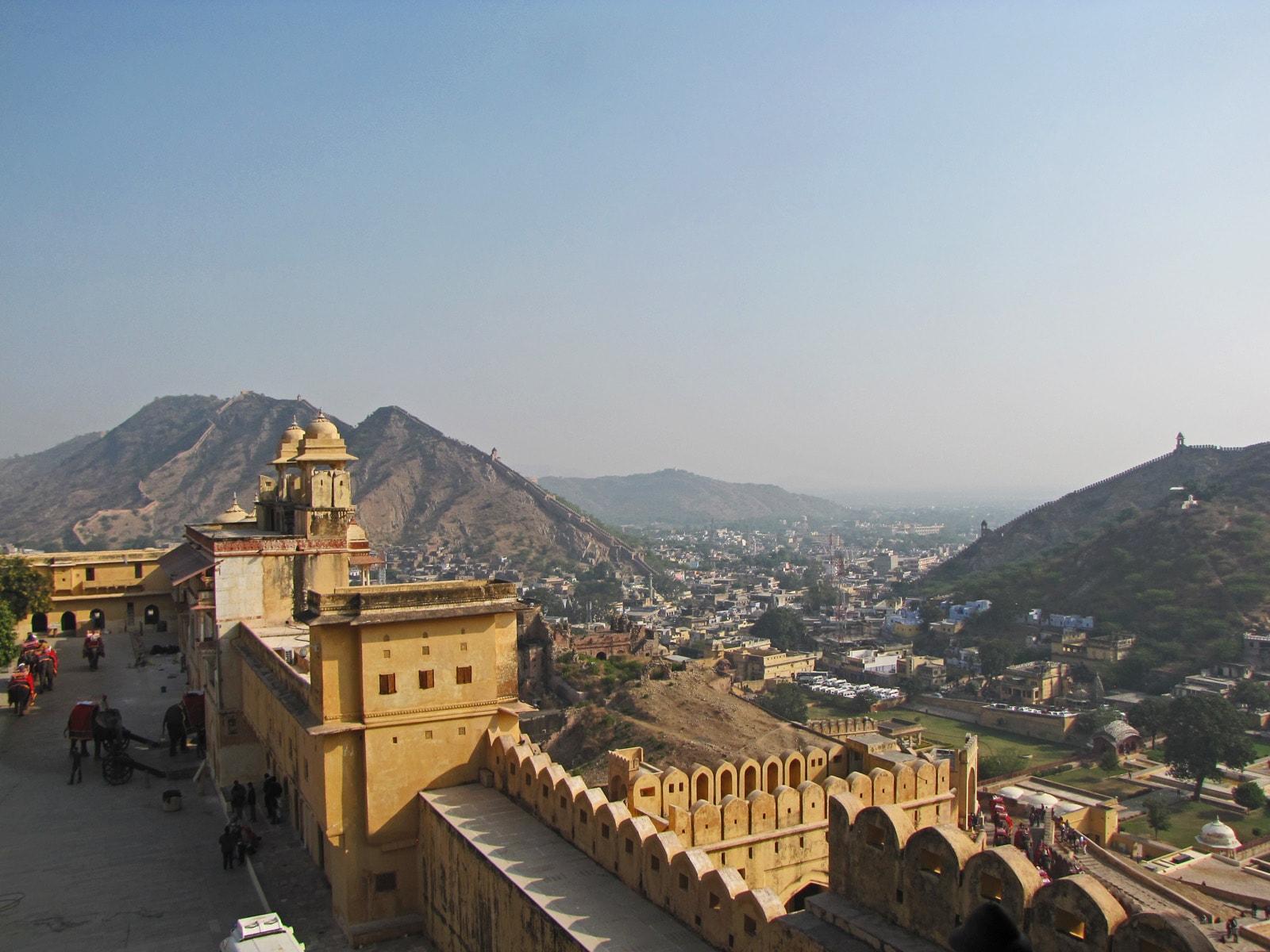 Vista dall'Amber Fort