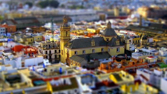 8 apellidos vascos: Iglesia de San Bernardo, Sevilla.