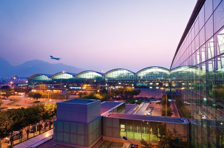 aeropuerto internacional de Hong Kong.
