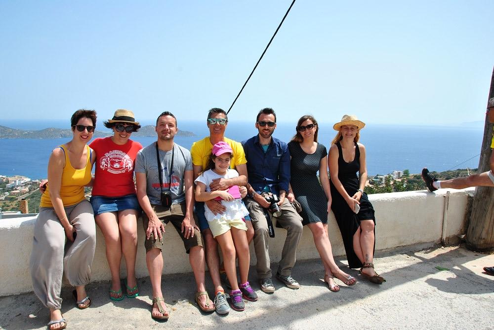 I blogger di #CretaSegreta con la guida Christos