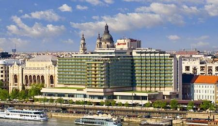 Budapest Marriott Hotel Exterior