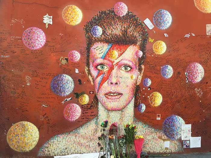 David Bowie: Retrato en una calle de Brixton