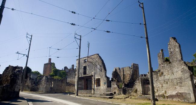 pueblo fantasma oradour sur glane francia