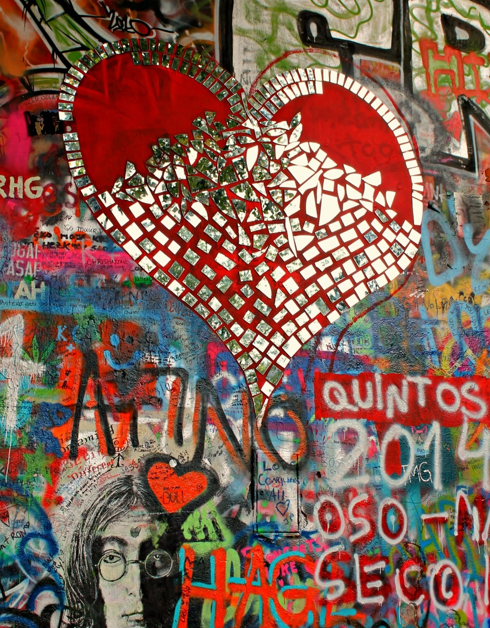 muro di Lennon praga