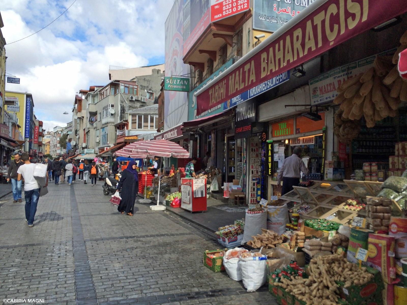 Per le strade di Fatih