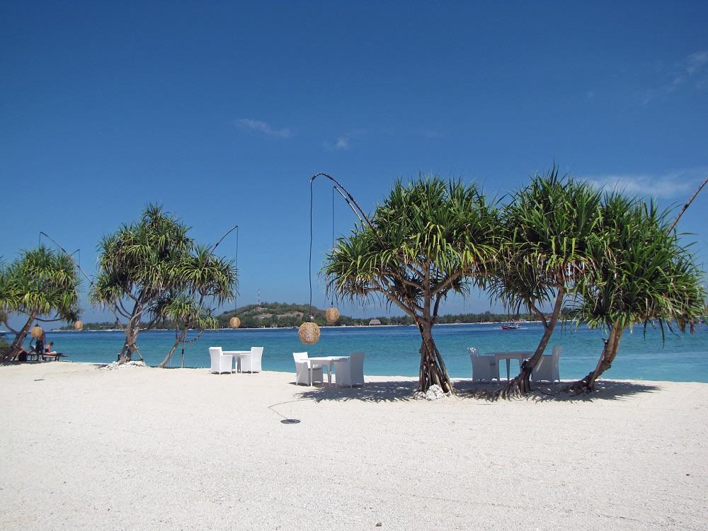 Una spiaggia delle Gili