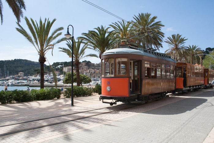Qué ver en Mallorca: tren de palma a soller