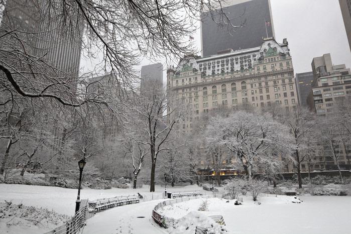 lugares de película: solo en casa dos hotel plaza nueva york