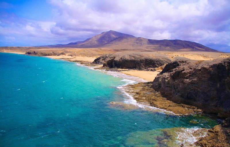 playas vírgenes: Playas de Papagayo.