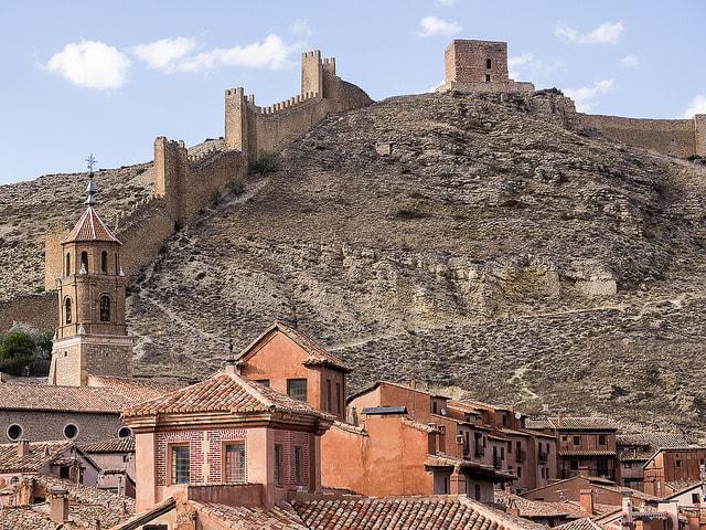 Murallas Albarracín Foto: Turol Jones Flickr.com, Creative Commons