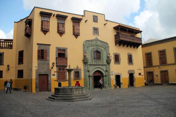 Casa de Colón en vegueta las palmas de gran canaria