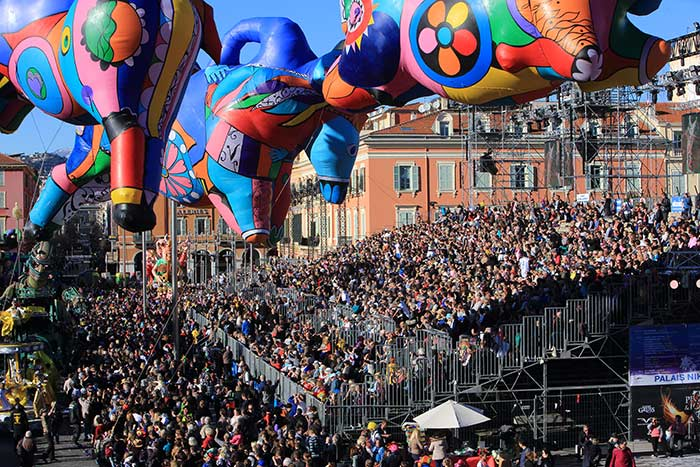 Nice Carnival (c) Convention & Visitors Bureau of Nice
