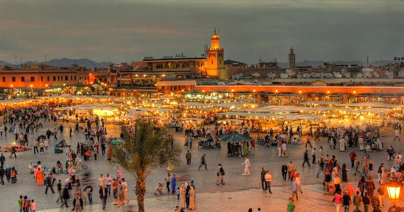 Compras en Marrakech.