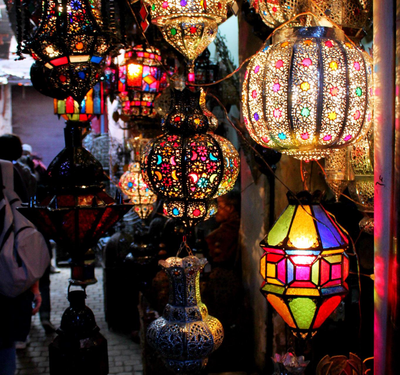 Marocco - un arcobaleno di colori