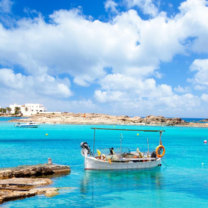 Formentera: Playa de Es Pujols