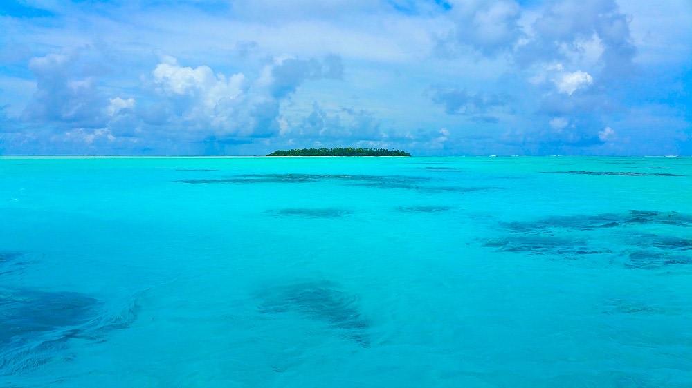 Verso One Foot Island, Aitutaki