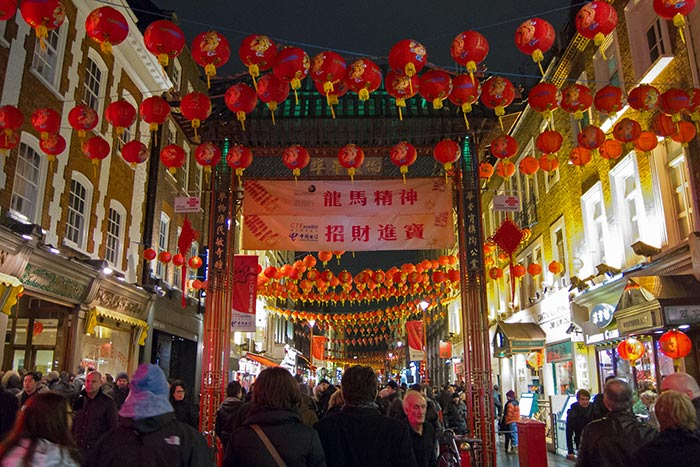 Chinatown London. Image by leo.wan via Fickr Creative Commons