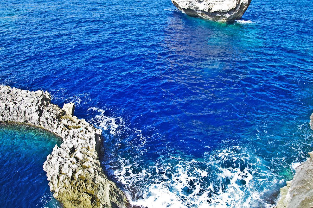 il blu di Malta - dettaglio Gozo