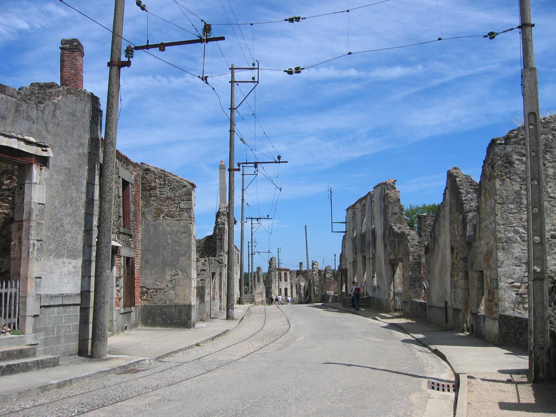 rue d'oaradour sur glane