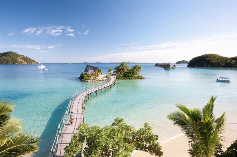 Hoteles con vistas: Likuliku Lagoon, Fiji.