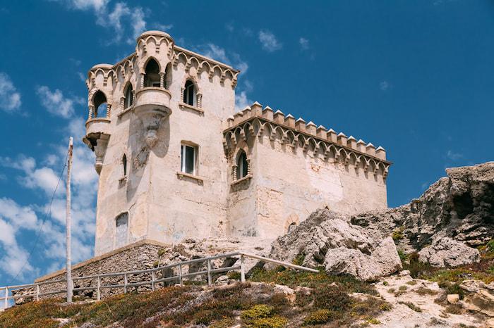 qué ver en tarifa: torre de castillo guzman el bueno en tarifa