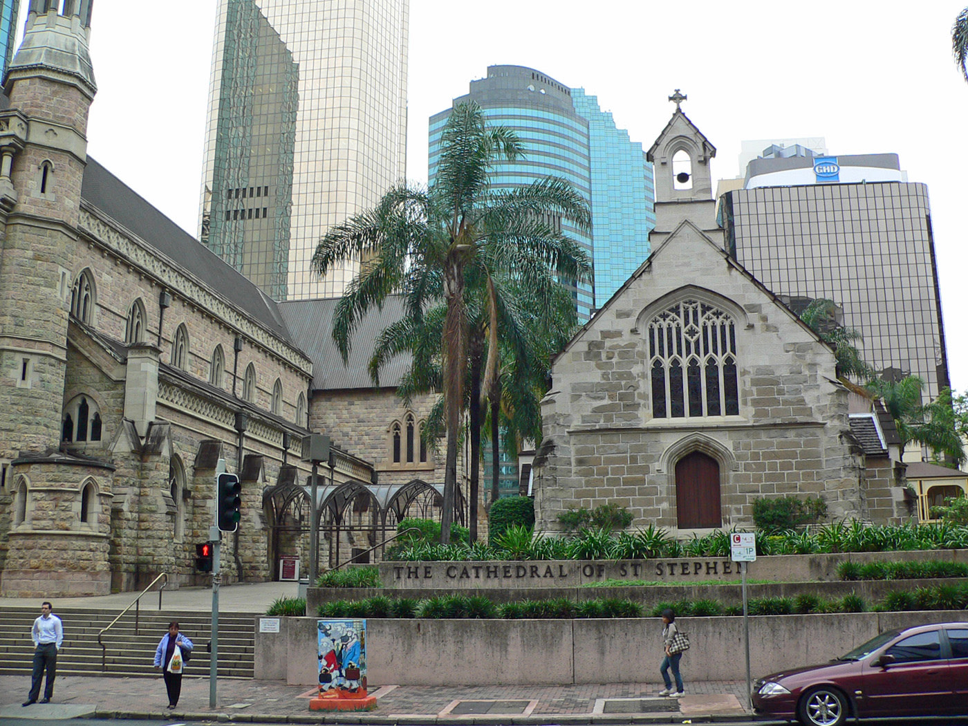 Brisbane, contrasti in centro