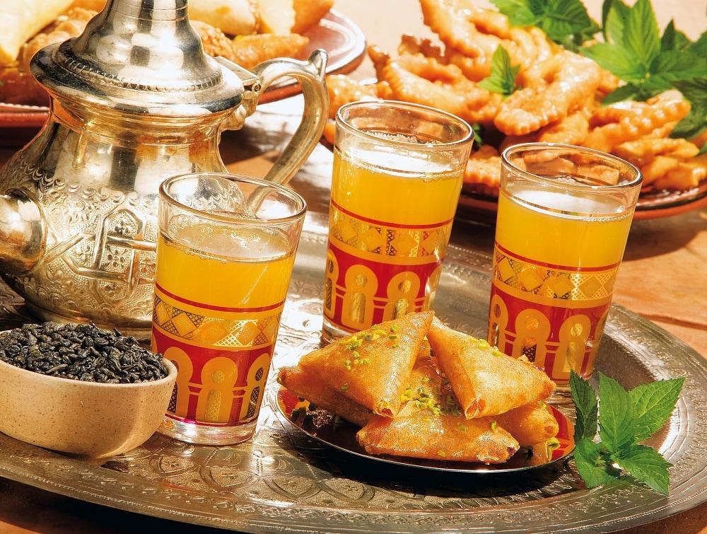 Tipica colazione marocchina