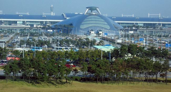 Aeropuertos del mundo: Aeropuerto Internacional Incheon. Seul.