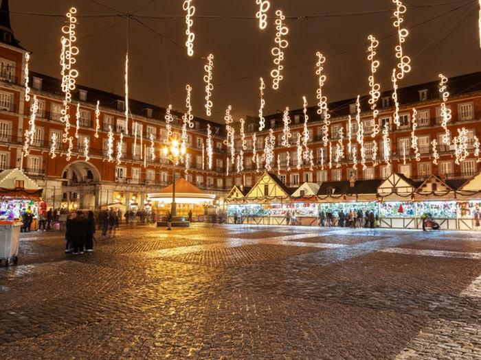 Compras de Navidad en Madrid: Plaza Mayor