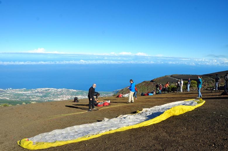 Parapente en Izaña: Tenerife