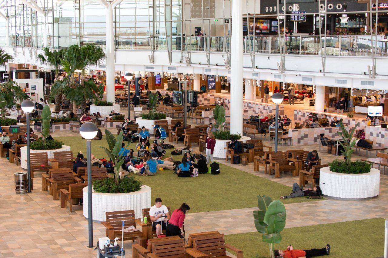 International terminal at Brisbane International Airport