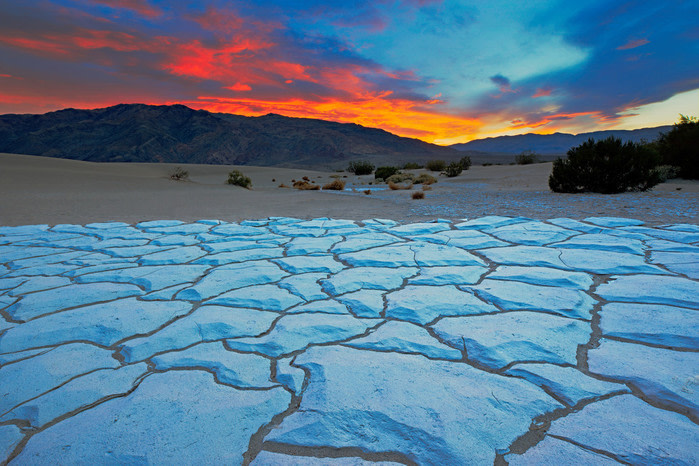 Desiertos del mudno:  sand valley california