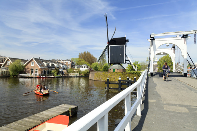 Panorámica de Leiden