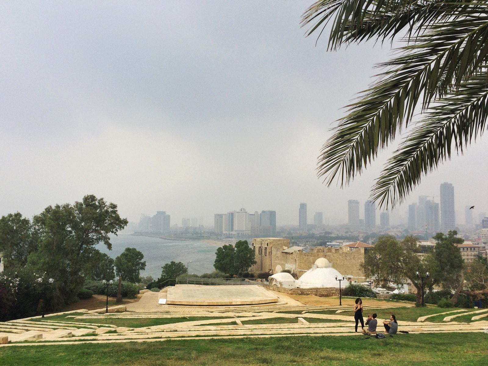 La baia di Tel Aviv vista da Jaffa
