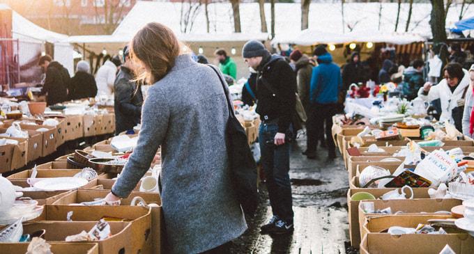 Market in Berlin