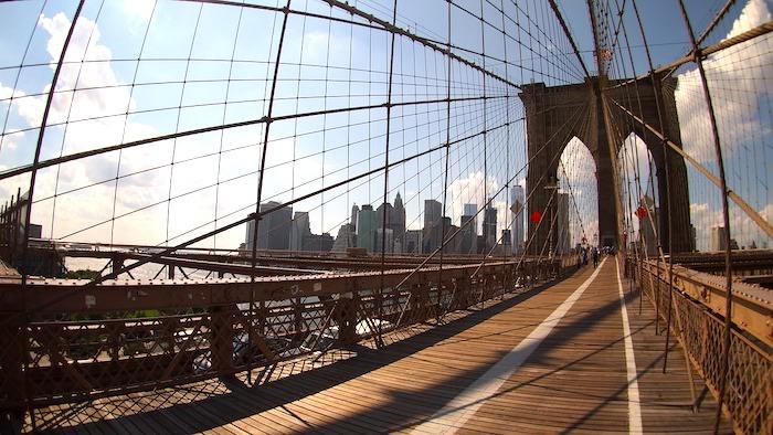Qué hacer en Nueva York: Cruzar el puente de brooklyn