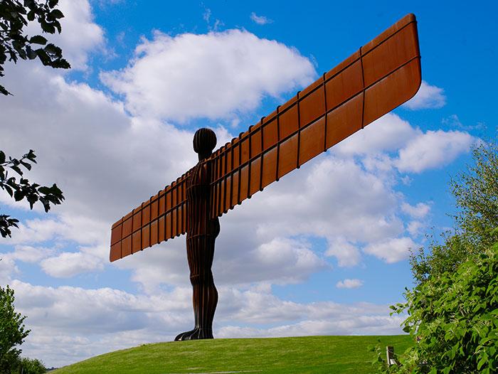The Angel of the North. Image courtesy of NewcastleGateshead Initiaive