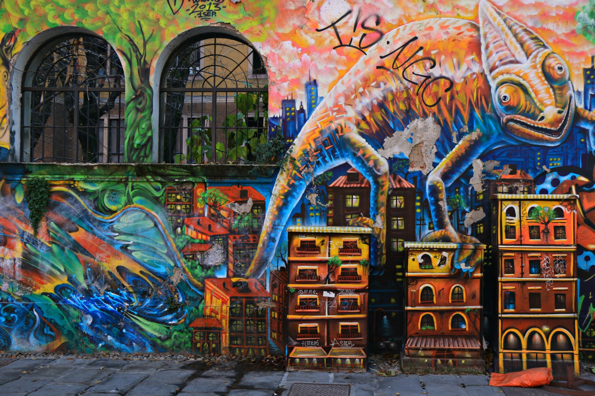 street art, navigli, Milano