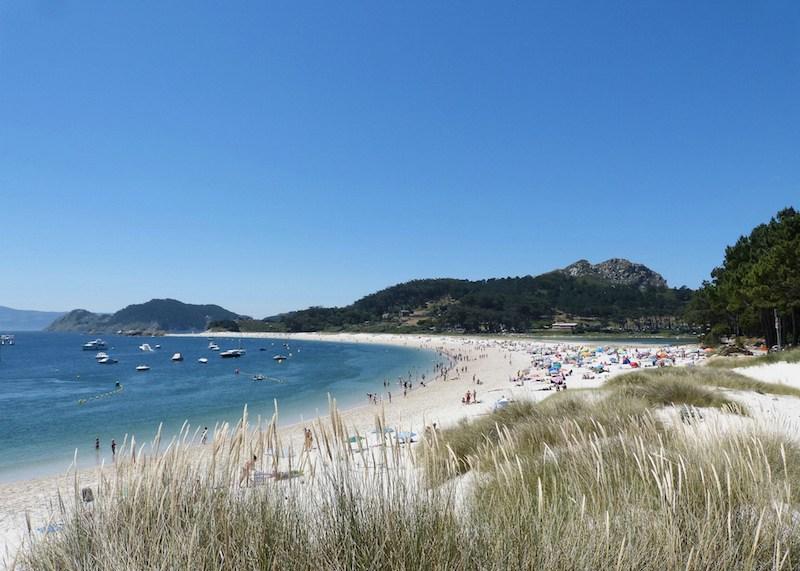 playas vírgenes: Playa de Rodas.