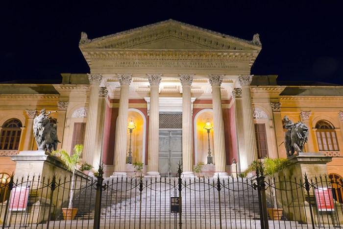 Palermo : Teatro Massimo