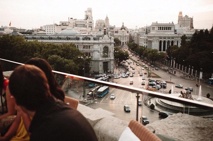 La Terraza de Cibeles. Foto: Hilario Sánchez.
