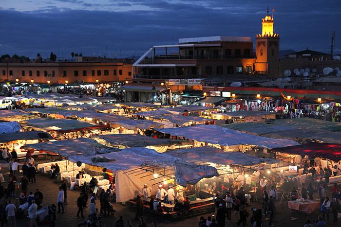 Plaza Djemaa el-Fna Marrakech