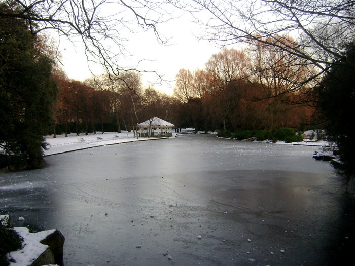 Parque de St Stephen's Green Dublin Irlanda